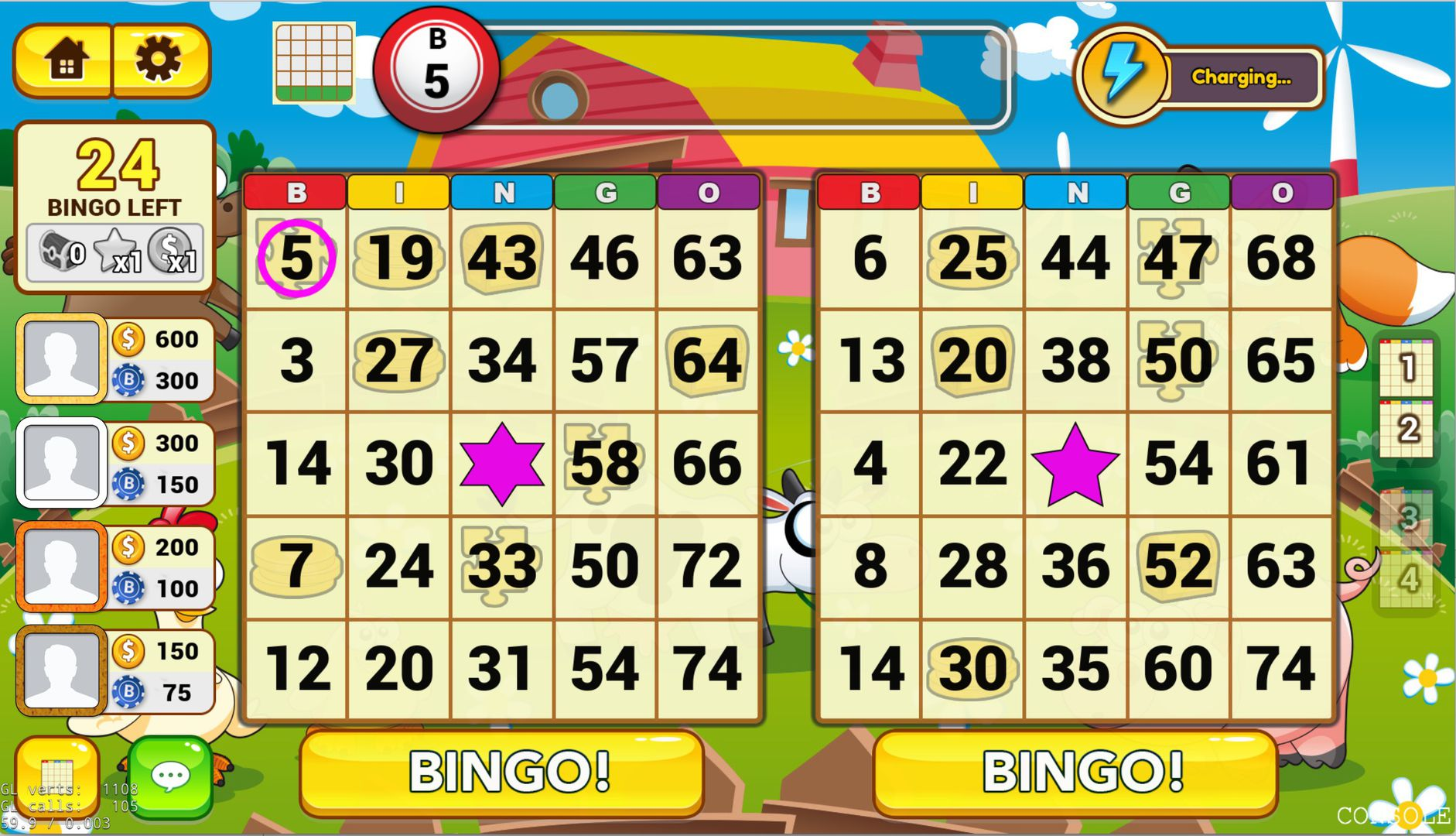 Bingo Legends Screenshot